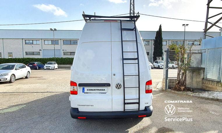 zona trasera Volkswagen Transporter T5