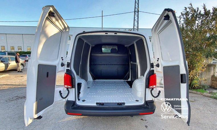 zona de carga Volkswagen Transporter T6.1 150 CV