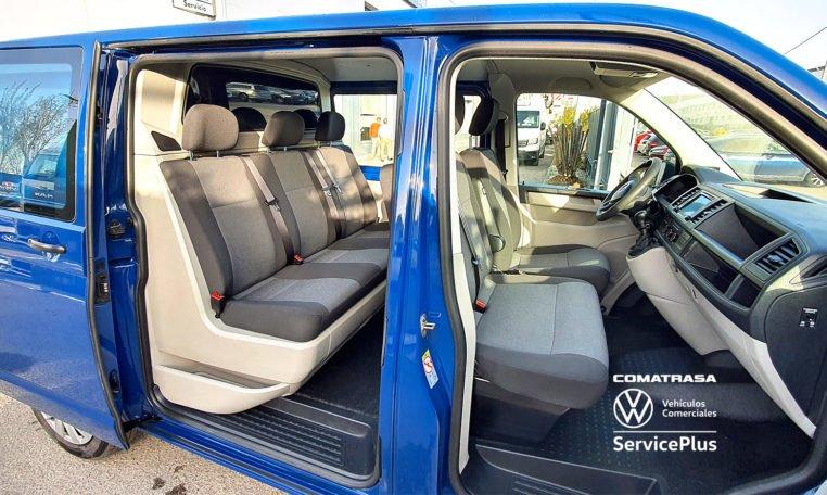 6 plazas Volkswagen Transporter T6 Mixto Plus