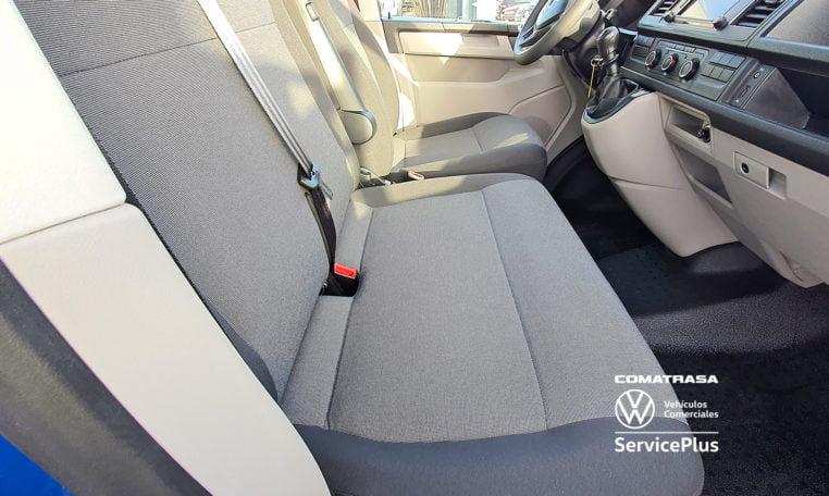 asientos delanteros Volkswagen Transporter T6 Mixto Plus