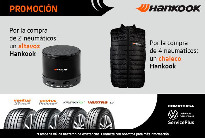 Promoción neumáticos Hankook