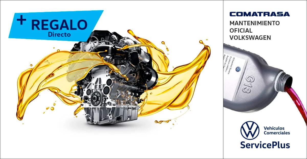 Cambio de aceite y filtro Volkswagen
