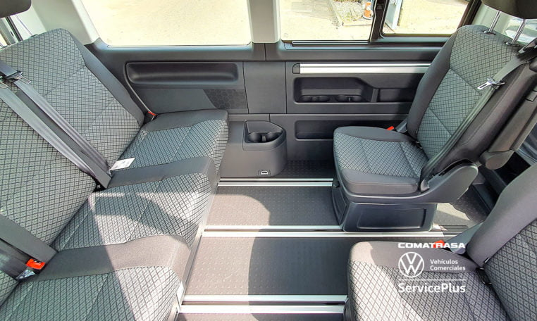 asientos giratorios Multivan Origin 6.1 DSG 150 CV