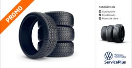 Ofertas neumáticos Volkswagen