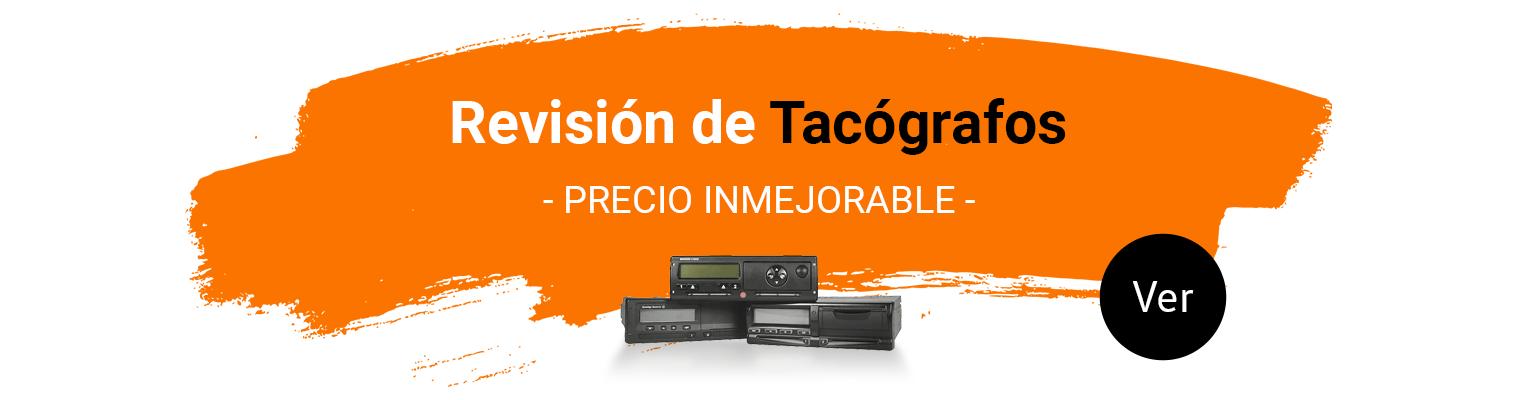 Revisión tacógrafos Madrid