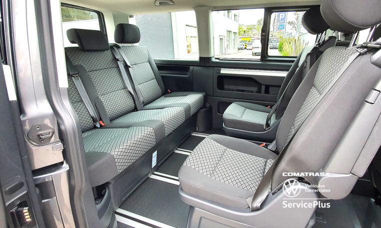 asientos giratorios Volkswagen Multivan T6.1 DSG