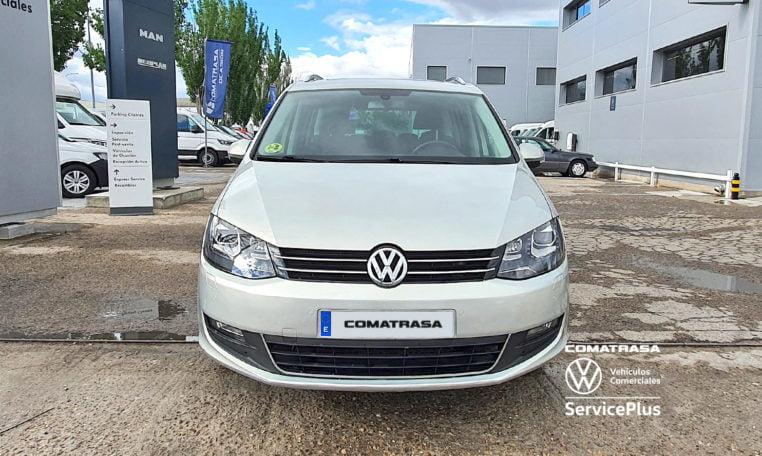 delantera Volkswagen Sharan 2.0 TDI 140 CV
