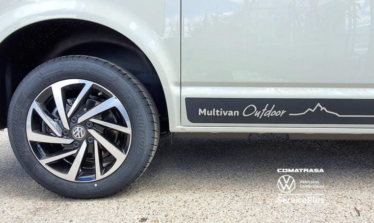 llantas Multivan 6.1 Outdoor