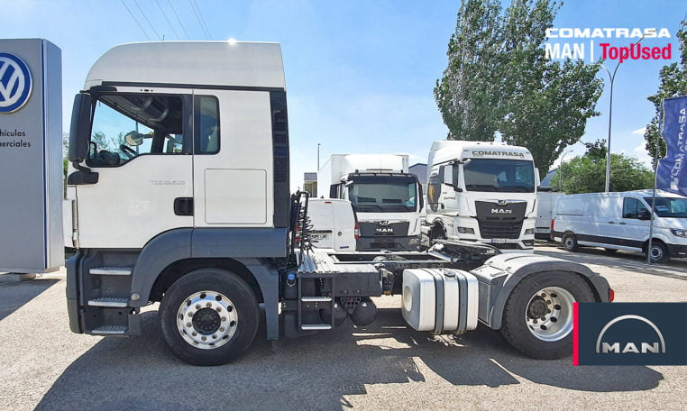 lateral MAN TGX 18.460