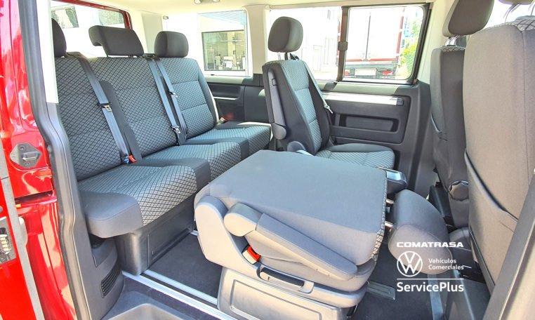 asientos giratorios Multivan 6.1 Origin 150 CV