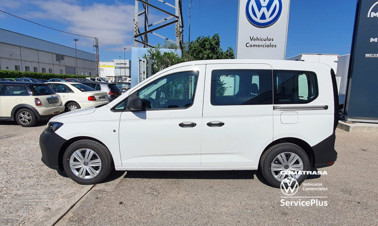 lateral Volkswagen Caddy Kombi 5