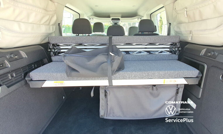 cama abatible Volkswagen Caddy Maxi California