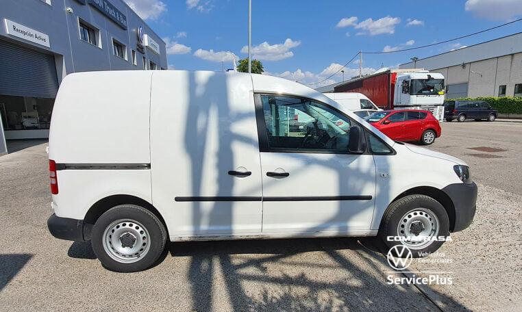 lateral Volkswagen Caddy Pro 1.6 TDI 75 CV