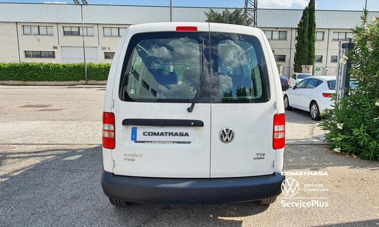 maletero Volkswagen Caddy Pro Kombi