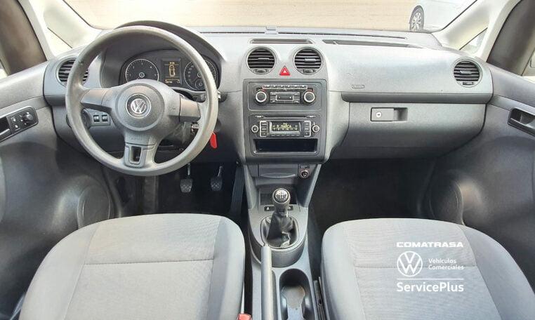 interior Volkswagen Caddy Pro Kombi