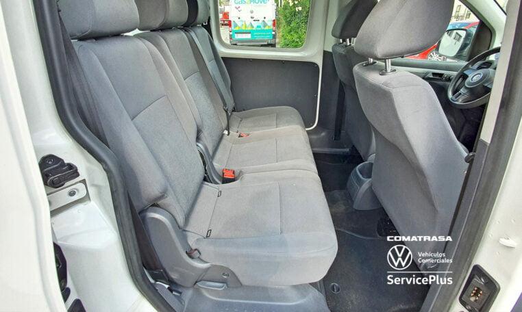 asientos traseros Volkswagen Caddy Pro Kombi