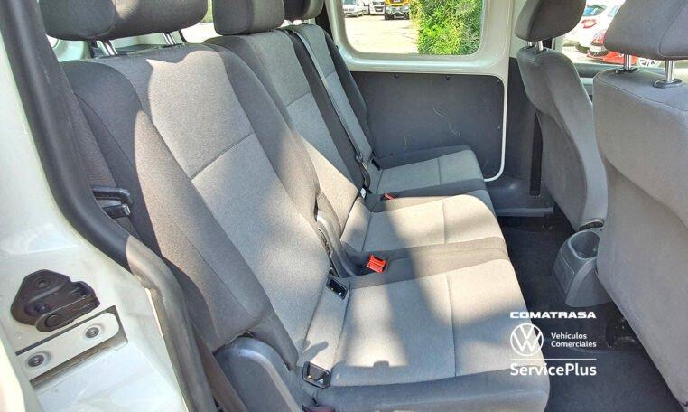 5 asientos Volkswagen Caddy Pro Kombi