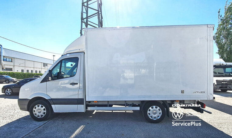 lateral Volkswagen Crafter Box