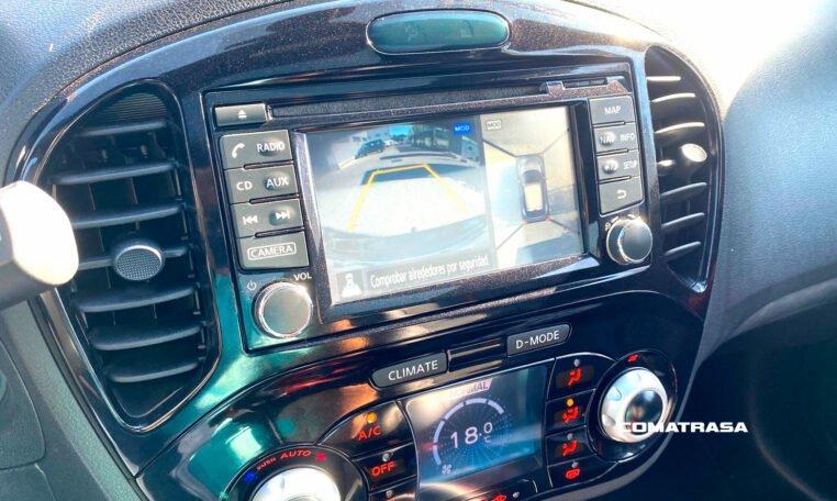 cámara marcha atrás Nissan Juke Tekna