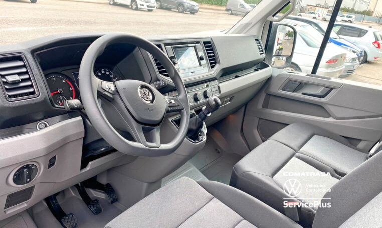 interior Volkswagen Crafter Chasis 35 BL 177 CV