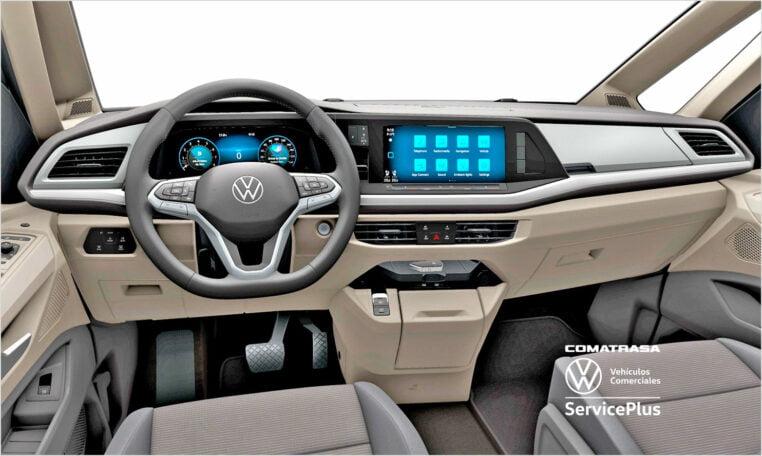 salpicadero Nuevo Volkswagen Multivan Life