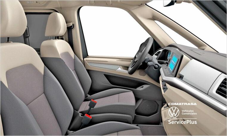 interior Nuevo Volkswagen Multivan Life