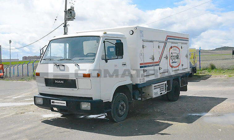 MAN 8150 Camión Frigorífico 1990 - 1
