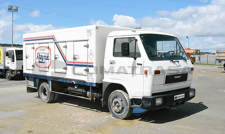 MAN 8150 Camión Frigorífico 1990 - 2