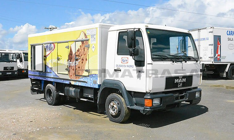 MAN 8153 Camión Frigorífico 1996 2
