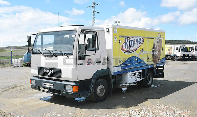 MAN 8163 Camión Frigorífico 1997 1