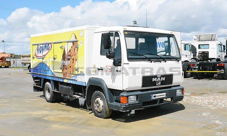 MAN 8163 Camión Frigorífico 1997 2