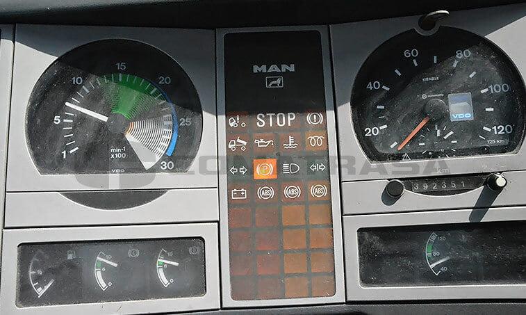 MAN 8163 Camión Frigorífico 1997 6