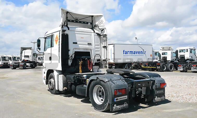 MAN TG 350 A Cabeza Tractora 2005 05 24 4