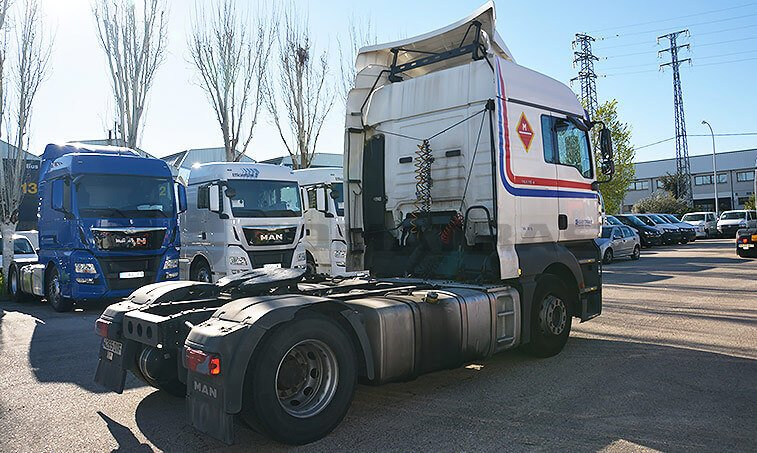 MAN TGA 18430 marzo 2006 4x2 BLS Cabeza Tractora 2