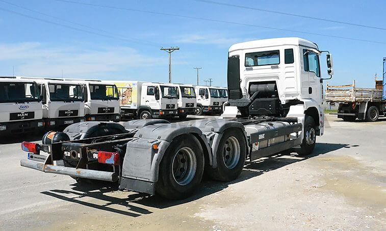 MAN TGA 28400 6x2 2BL Camión Portacontenedores 2007 03 23 4