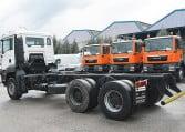MAN TGA 33350 6x4 BB Camión Portacontenedores - 3