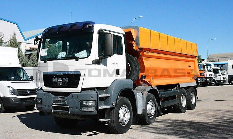 MAN TGS 35360 8x4BB Camión Dúmper 1