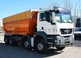 MAN TGS 35360 8x4BB Camión Dúmper 2