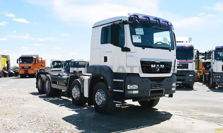 MAN TGS 35440 Nuevo 8x4 BB Chasis Camión 2