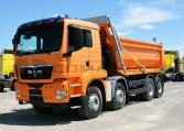 MAN TGS 41440 8x4BB Camión Dúmper 1