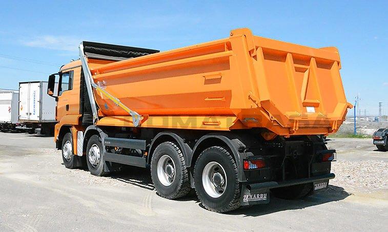 MAN TGS 41440 8x4BB Camión Dúmper 4