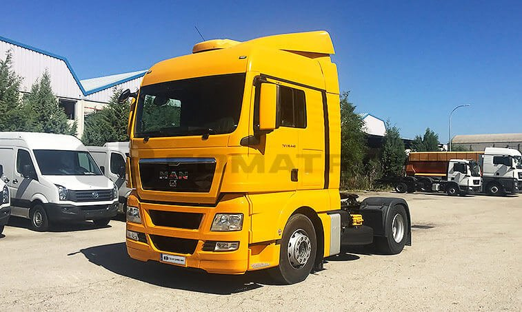 MAN TGX 18440 2012 4x2 BLS Cabeza Tractora en Madrid 1