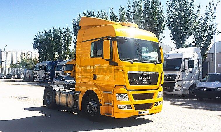 MAN TGX 18440 2012 4x2 BLS Cabeza Tractora en Madrid 2