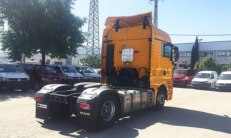 MAN TGX 18440 2012 4x2 BLS Cabeza Tractora en Madrid 3