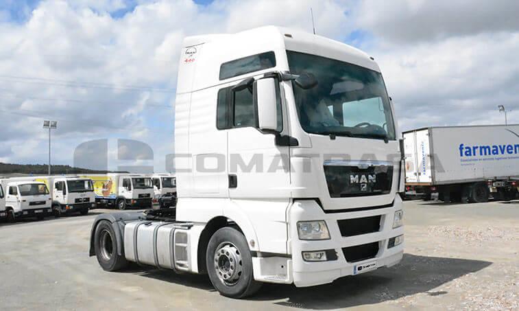 MAN TGX 18440 2009 4x2 BLS Cabeza Tractora 2009 07 22 2