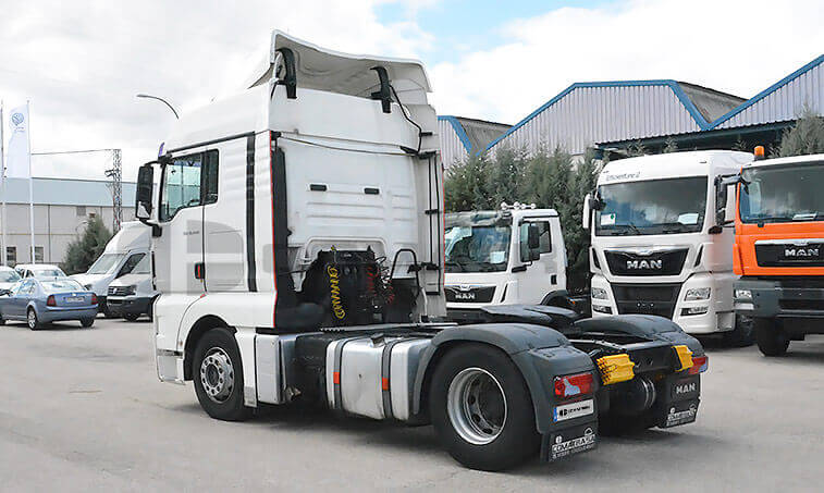 MAN TGX 18440 2010 4×2 BLS Cabeza Tractora 2010 12 13 3
