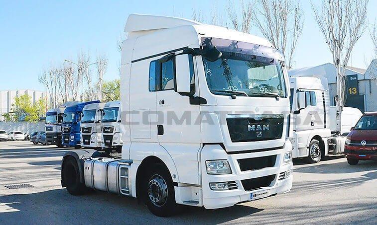 MAN TGX 18440 2011 4x2 BLS Cabeza Tractora 2011 abril 04 2