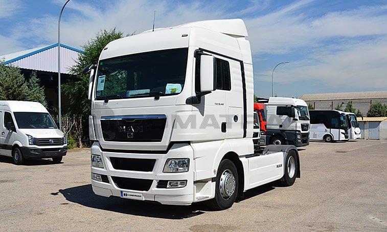 MAN TGX 18440 Abril 2012 4x2 BLS Cabeza Tractora 1