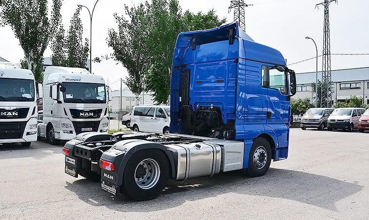 MAN TGX 18480 2015 4X2 BLS EFFICIENT LINE Cabeza Tractora 3