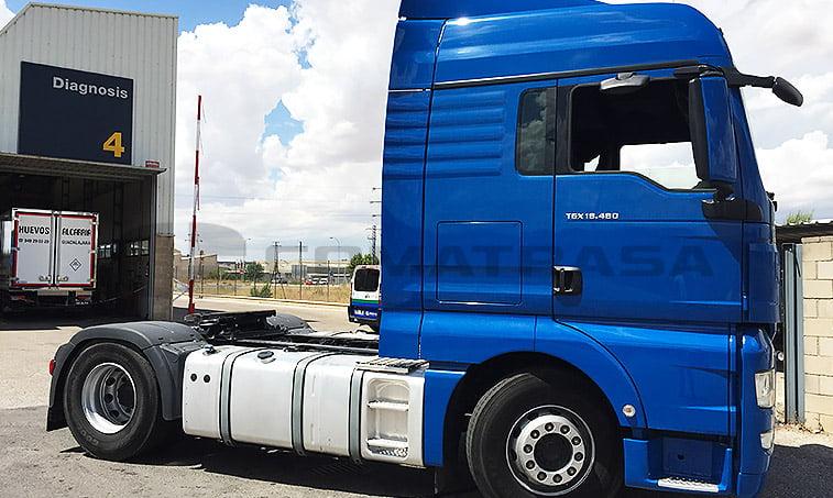 MAN TGX 18480 2012 4x2 BLS Cabeza Tractora - 2